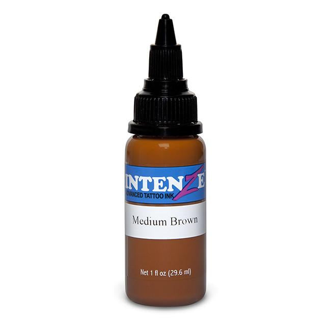 Medium Brown Tattoo Ink - Intenze Products Austria GmbH