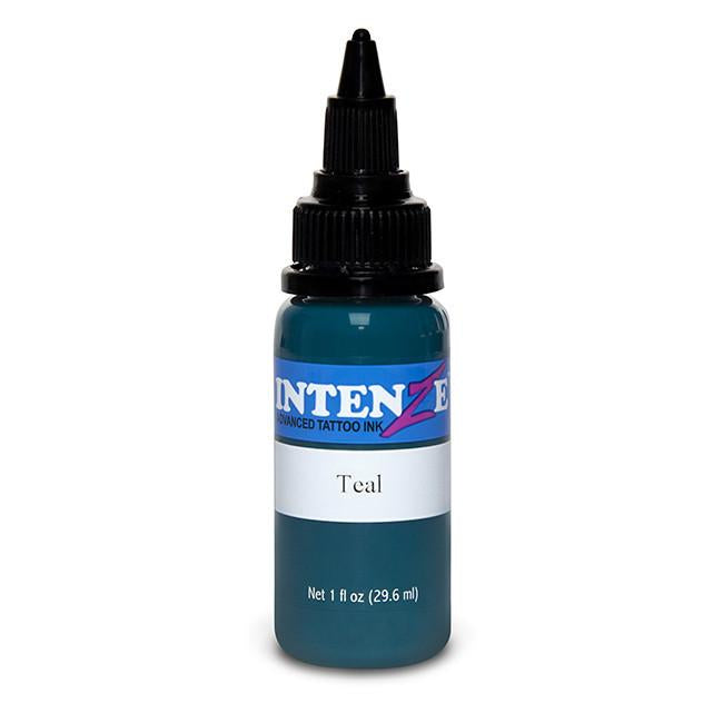 Teal Tattoo Ink - Intenze Products Austria GmbH