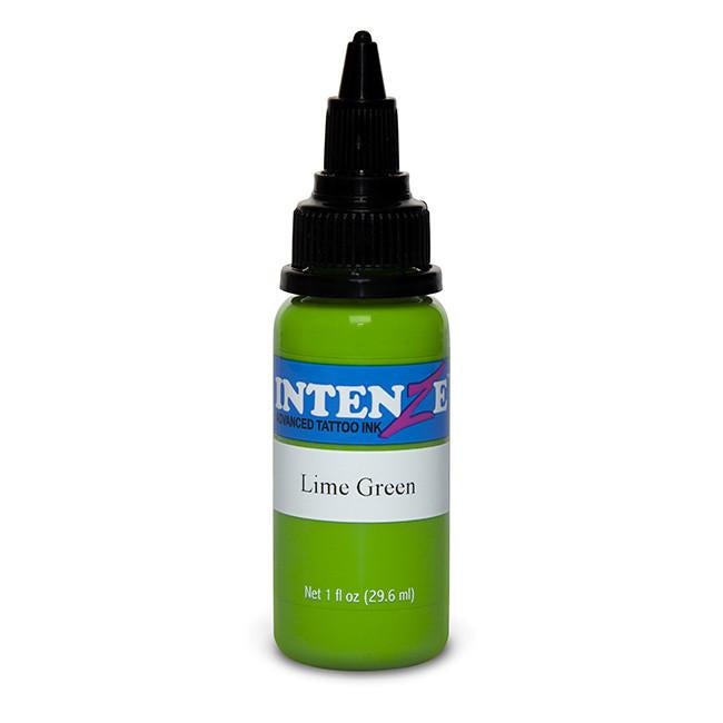 Lime Green Tattoo Ink - Intenze Products Austria GmbH