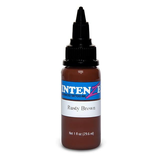 Rusty Brown Tattoo Ink - Intenze Products Austria GmbH