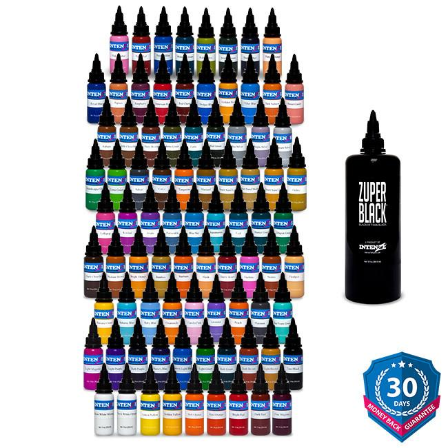 101 Color Tattoo Ink Set - Intenze Products Austria GmbH