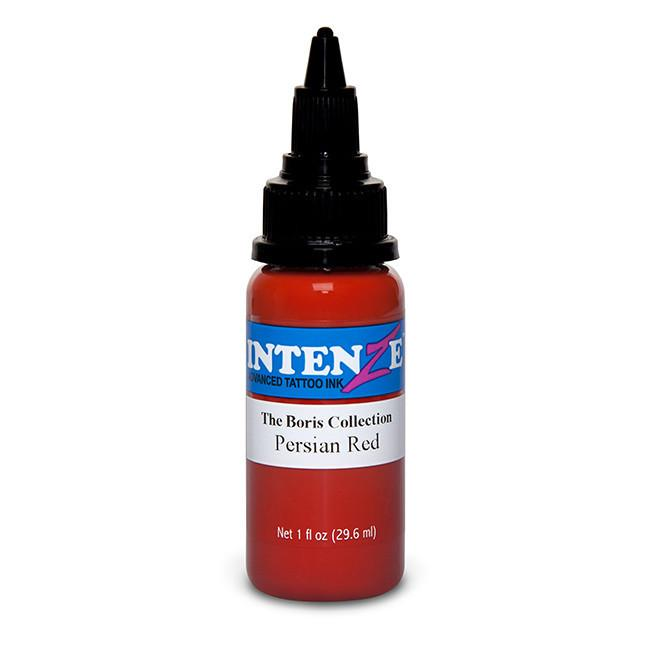 Persian Red Tattoo Ink - Boris from Hungary Color Series - Intenze Products Austria GmbH