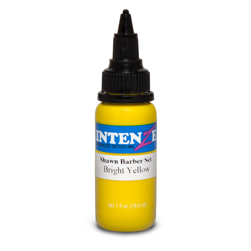 Bright Yellow - Shawn Barber Painter's Palette Set - Intenze Products Austria GmbH