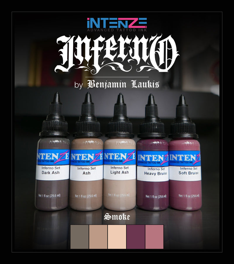INFERNO Tattoo Color Set - Intenze Products Austria GmbH