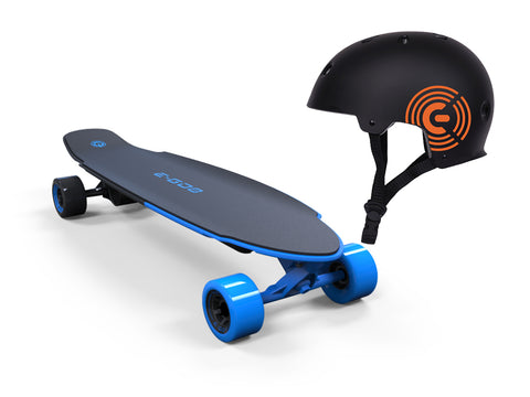 Yuneec E-GO 2 Royal Aktion SET mit Helm - e-longboard
