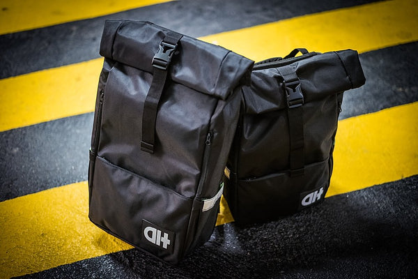 Alter Bags Native Backpack – Midnight Black - e-longboard