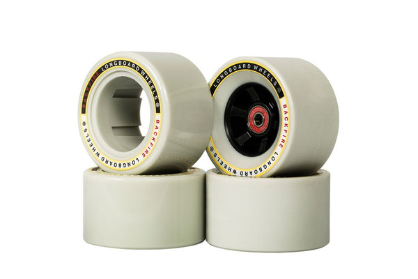 Backfire Bigfoot 96mm  Wheels With 4 Pcs Of Bearings And 2 Spacer Inside For G2 / G2s - e-longboard
