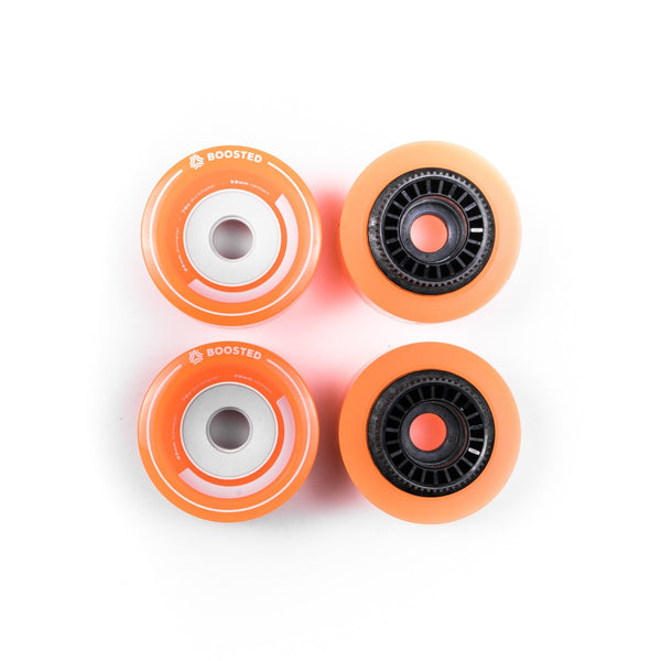 Boosted Stratus full set of 4 wheels 85mm – Orange