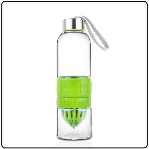 Fruit Infuser Water Bottle Glass 550mL - Store Without A Door