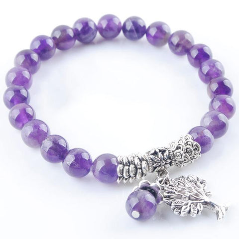 Amethysts Stone Bracelet - Store Without A Door