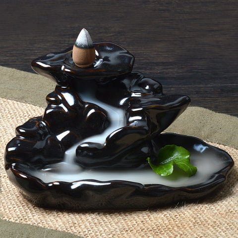 Tower Ceramic Backflow Incense Burner - Store Without A Door