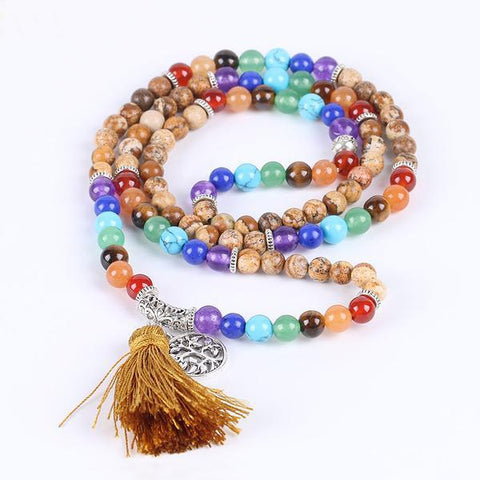 Earth Energy -Seven Chakra Mala - Store Without A Door
