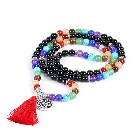Seven Chakras Mala - Store Without A Door