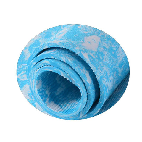 "Double Sided Non Slip Natural TPE Yoga Mat 1/4"" - Store Without A Door"
