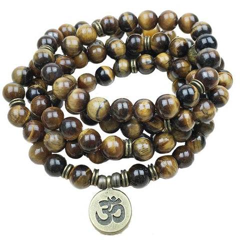 Vitality Mala-Tiger's Eye Stone - Store Without A Door
