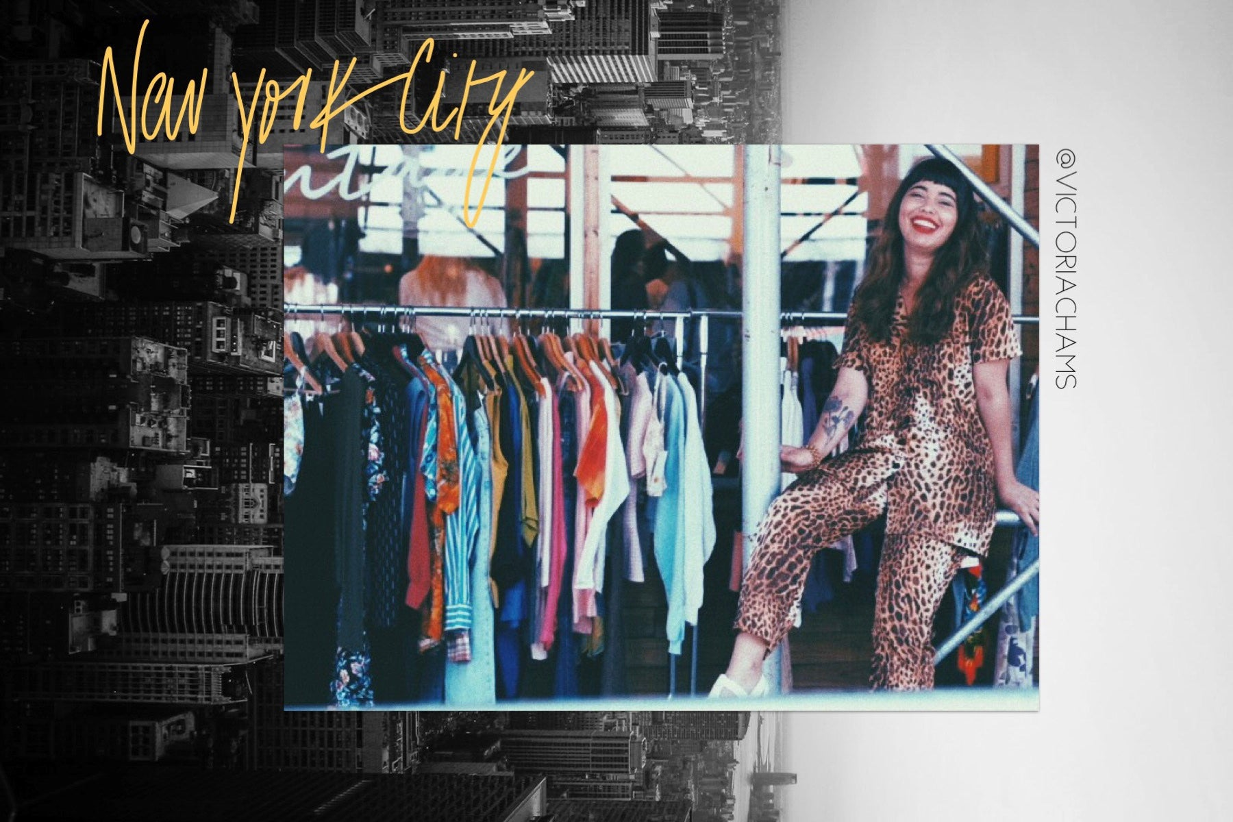 COOL-HUNT: Conoce a Victoria Chams, nuestra shopper en New York