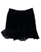 Black Velvet dreams Vintage  Mini skirt