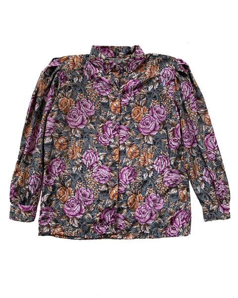 Floral Caleidoscope Vintage Shirt