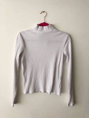 Turtleneck Blanco / Talla L