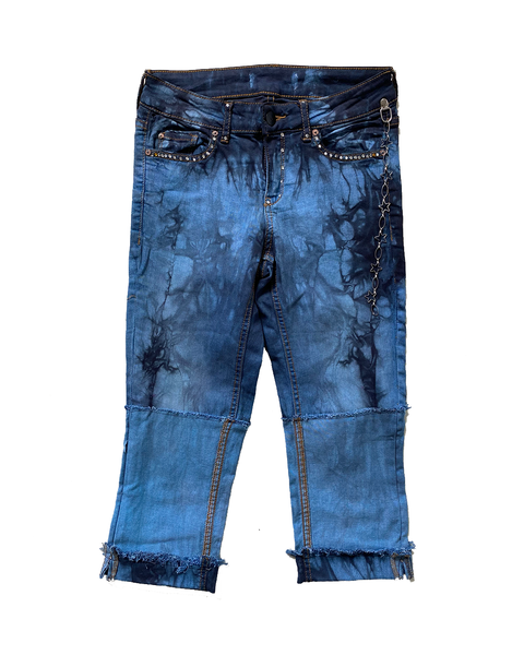 Paris Hilton Fisher Pants / Tie Dye 01
