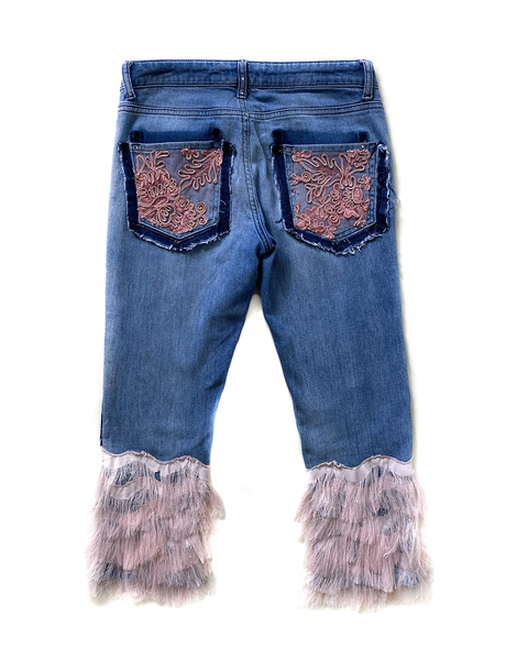 Baby One More time Reworked Jeans