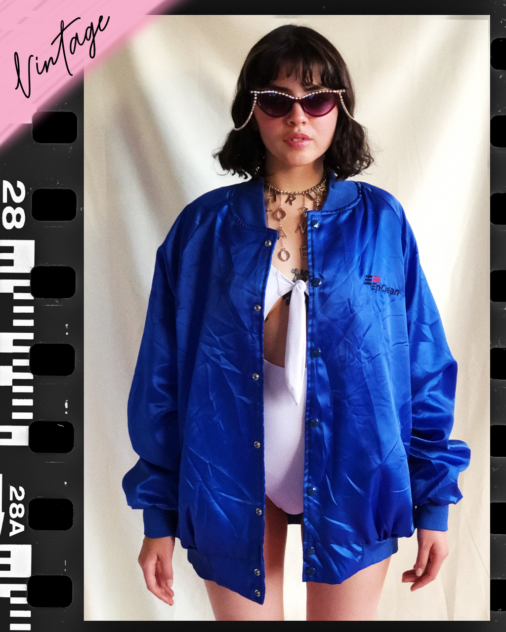Thumb love Vintage Satin Jacket