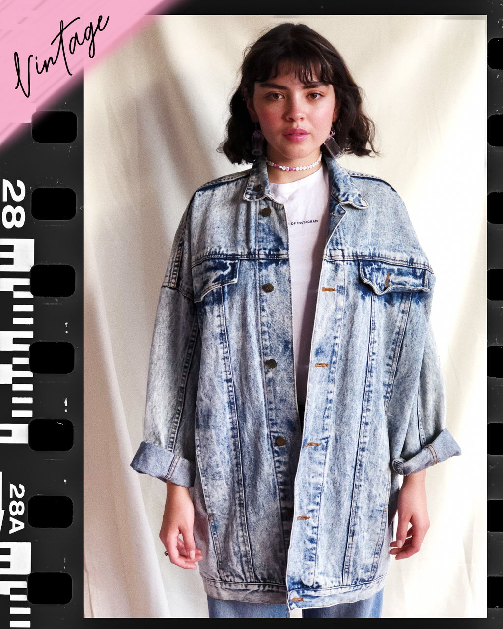 Best revenge is to ignore Vintage Denim Jacket