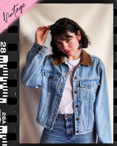 Love yourself first Vintage Denim Jacket