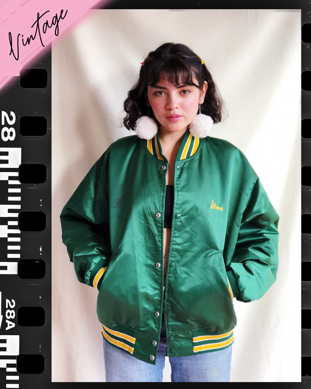 Boys Cry a lot Vintage Satin Jacket