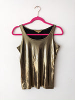 Golden night top  / Pre-loved