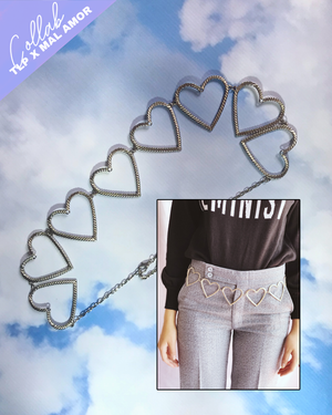 Melting Hearts Belly Chain
