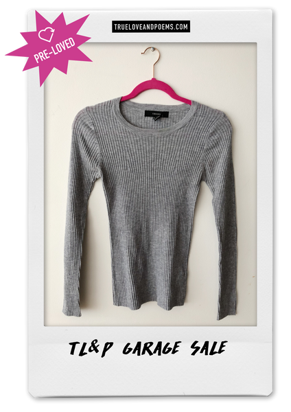 Saco gris Forever 21 / Talla L