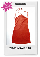 Marsala summer dress  / pre-loved