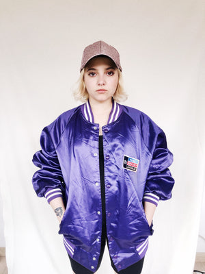 Tally Vintage Satin Jacket