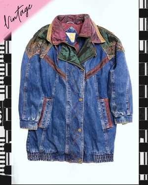 Wild country vintage denim Jacket