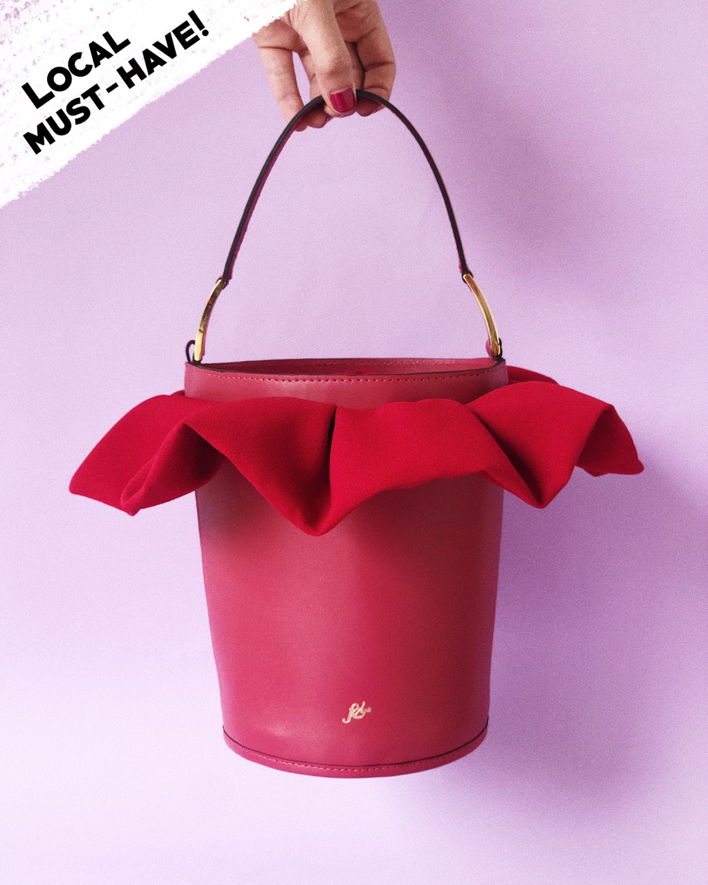 The orchid Bag / Red