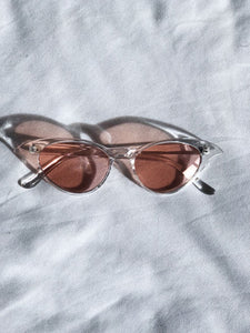 Miranda Cat eye Sunnies / Cherry