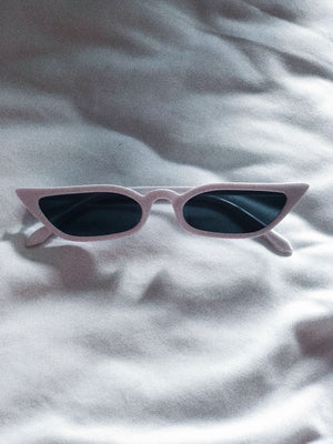 Reese Sunnies / White