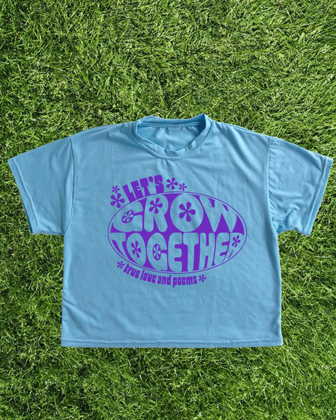 T-shirt Grow Together / Baby Blue