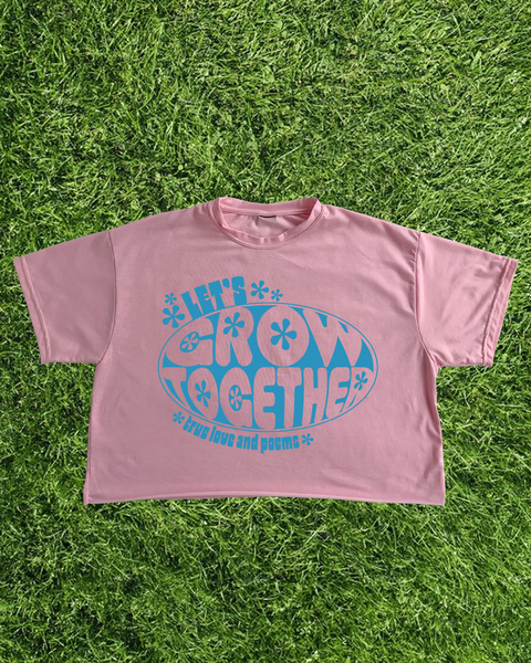 Crop-Top Grow Together / Pink