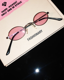 Leelo Sunnies / Clear pink