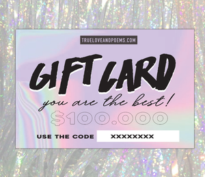 Gift Card - You are the best!