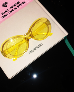 Estellar Sunnies / Glittering yellow
