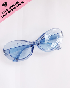 Estellar Sunnies / Glittering blue
