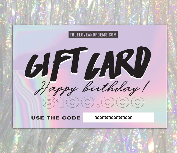 Gift Card - Happy Birthday!