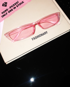 Sweet alien Sunnies / Clear pink