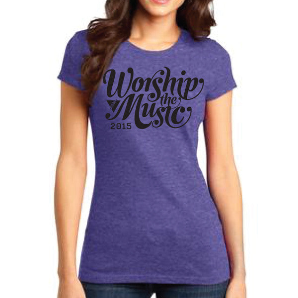 2015 Worship The Music Tee