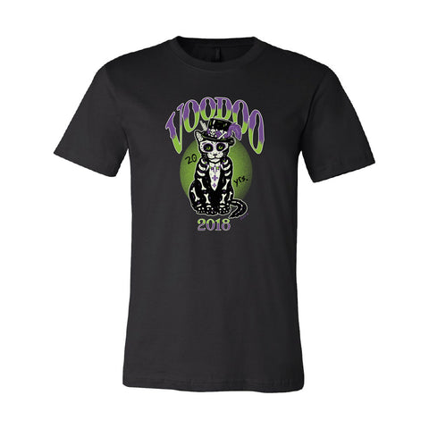 2018 Black Cat Lineup Tee - PREORDER!