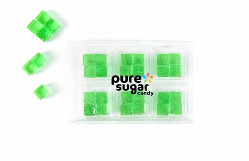 Candy Cubes - Green Apple