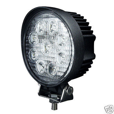 27w LED Work Round Light Spot Beam